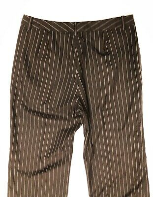 womens ralph lauren Dress pants size 14 striped down and white