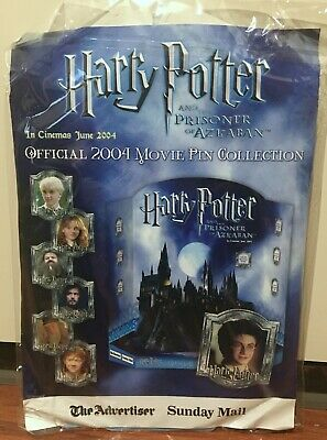 2004 Harry Potter and the Prisoner of Azkaban Movie Pin Collection and Album