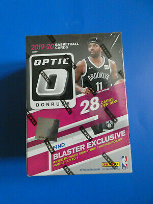 2019 2020 Panini Donruss Optic NBA Basketball Sealed Blaster Box 28 Cards NEW