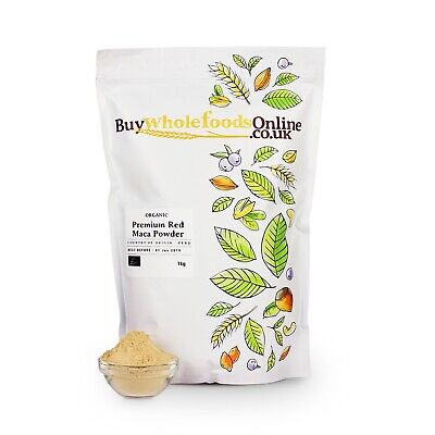 Organic Premium Red Maca Powder 1kg | Buy Whole Foods Online | Free UK P&P