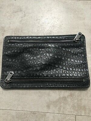 All Saint 100% Leather Purse Clutch
