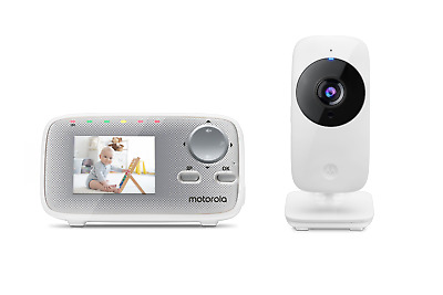 """Motorola MBP29A Video Baby Monitor with 2.4"""" Handheld Parent Unit"""