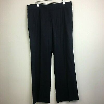 NWT J Crew Women's Favorite Fit 100% Wool Twill Academy Pant - Size 14