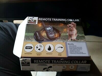 Downtown Pet Supply Rechargeable Remote Training Collar for Dogs NEW