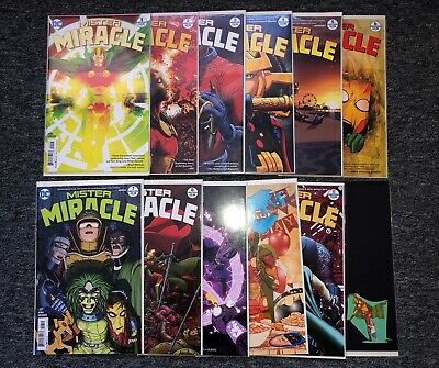 Mister Miracle 1-12 Complete Comic Lot Run Set DC Tom King Gerads Collection