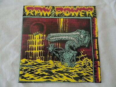 CD Raw Power - Screams From the Gutter/After Your Brain on Toxic Shock - 1985/86