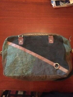 Recycled Mona B Travel Weekend Bag Bag Commuter Bag   Diaper Bag New With Tags