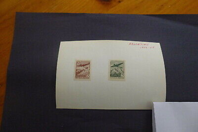Lot of 2 Used Argentina 1946-1948  stamp