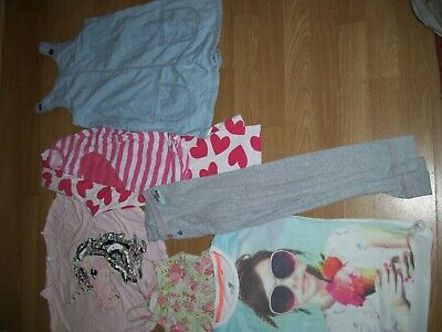 Girl's summer bundle of clothing.Age 8 years.Tops,playsuit, dress, pj's