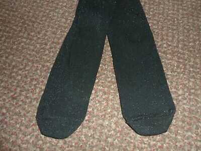 new matalan black glitter / sparkly  tights 3-4 years - BNWOT