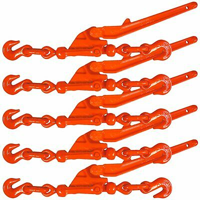 Safety Release Lever-Style Load Binder - 5 Pack - 6600 lbs SWL