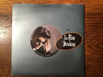 Vinyl Record Single Vintage 45 Blow Monkeys Digging Your Scene I Backed A Winner