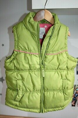 Girls Green Next Gillet Age 5-6 years