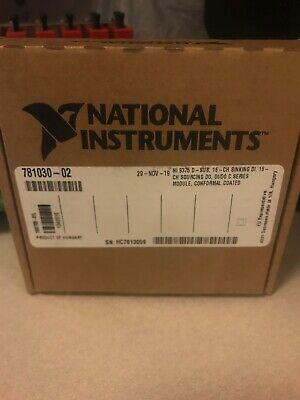 National Instruments NI-9375 24 V, 16-Channel Sinking Sourcing DI DO C Series
