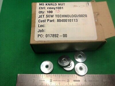 M5 Knurled Adjustment Nuts, Lot Of Five Pcs