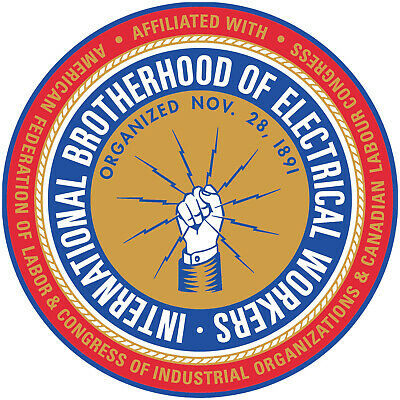 IBEW Union Sticker Decals (Select your Size)
