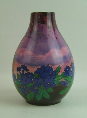 Vintage Royal Doulton Floral Decorated Vase - 1922 - Made In England