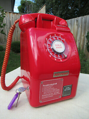 Vintage Telephone Payphone Retro Pay Phone   1976  *Spectacular*