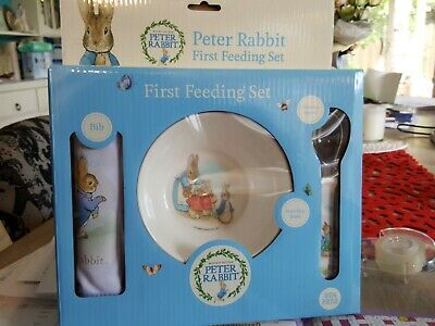 Beatrix Potter Peter Rabbit Classic Bowl and Spoon Set