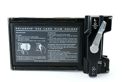 Polaroid 545 Land Film Holder for 4x5 Camera Excellent from Japan