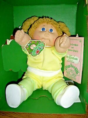 1984 Cabbage Patch Girl Doll - Mint In Box, Never Removed