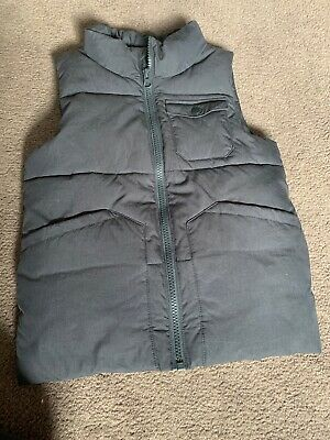 Boys Country Road Puffer Vest Dark Grey EUC Sz 6-7