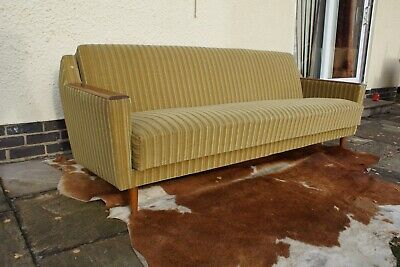 Original Vintage Mid Century Sofa / Daybed / Put-You-Up 1965