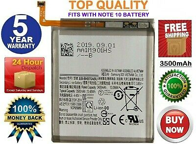 Replacement Battery For Samsung Galaxy Note 10 OEM Original Battery (N970  N975)