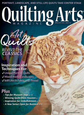 Quilting Arts Magazine April/May 2020