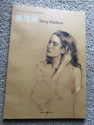 Pang Maokun Signed Paperback Book Of Contemporary Art Sketch - Chinese Edition