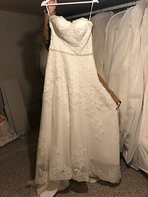 Alana Rose Bridal Dreams Size 10 Lace Designer Wedding Dress