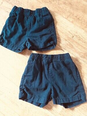 2 X Boys Next Black School PE Shorts 3 Years - Good Condition