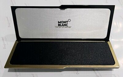 New Mont Blanc Official Original Fountain ballpoint Pen Box and Owners Manual