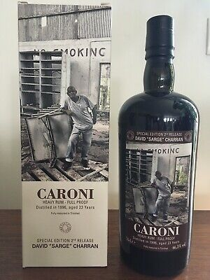 Caroni rum  Trinidad 1996  Employees Velier-953 bottles (rhum no Demerara)