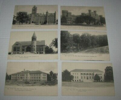 1905 Ohio State University College ADMISSION REQUIREMENTS 6 Postcard PC LOT