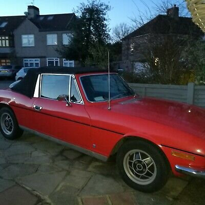 Triumph Stag 1976 MK 2 - daily usable car