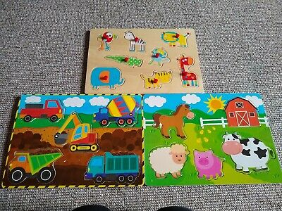 Baby's Jigsaw Wooden Puzzles