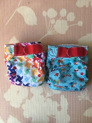 Tots Bots Easy Fit One Size AIO Cloth Diapers