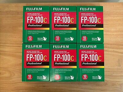 FP-100c Instant Color Film - 6 Boxes Polaroid Expired