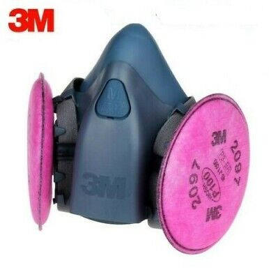 Combo:  3M 7502 Respirator with 2091 Filter Set