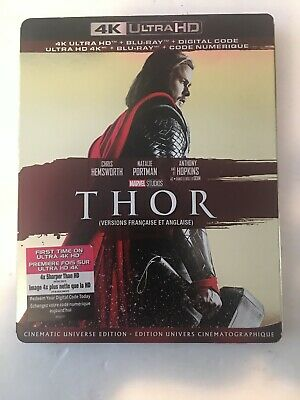 Thor (4K Ultra HD + Blu-ray + Digital, Bilingual)