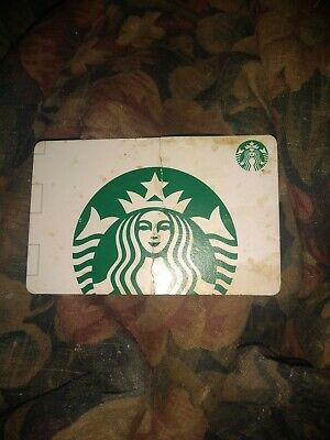Starbucks * Used Collectible Paper Gift Card No Value * (Damaged/Bent) 36392659