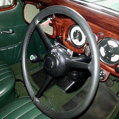 Traditional Genuine Leather Steering Wheel Cover / Glove - Austin 8,10,12,16, 20
