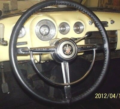 Classic American Car & Commercial Traditional Leather Steering Wheel Cover Glove
