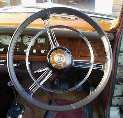 CLASSIC LEATHER STEERING WHEEL COVERs / GLOVEs ~ WOLSELEY 4/44 15/50