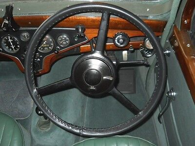 Traditional Leather Steering Wheel Covers / Gloves - Classic Cars & Commercials