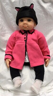 Ashton Drake Galleries Elly Knoops Kitten Has Lost Her Mitten Baby Doll Lifelike