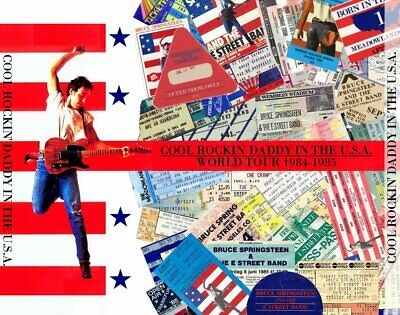 Bruce Springsteen  Cool Rockin' Daddy In The U.s.a. - 6 Cd Compilation