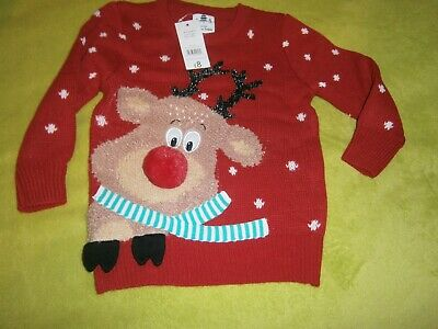 New Christmas Jumper Age 2/3 Years