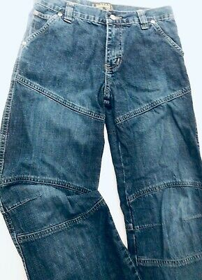 Boys G Star Originals Raw Jeans 12 years Denim Cargo Skater Blue Relaxed Fit 152